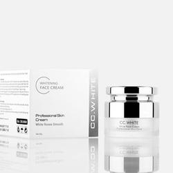 Kem dưỡng trắng hồng và trẻ hóa làn da CC White - Kem Face 1