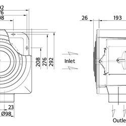Quạt thông gió âm trần Fanzic D15ZPD Hàn Quốc giá sỉ, giá bán buôn