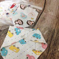 set 10 khăn yếm vải tam giác cho bé giá sỉ