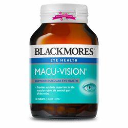 Blackmores Macu-Vision 30 Tablets - Thuốc bổ và hỗ điều trị các bệnh về mắt giá sỉ