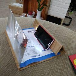 Giá đỡ phóng to màn hình điện thoại bằng gỗ giá sỉ