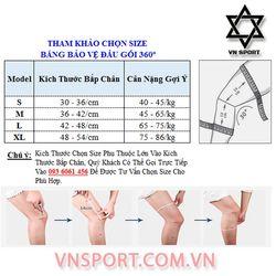 Băng Bảo Vệ Đầu Gối 360º Thời Trang Màu Xám- VNSPORT giá sỉ, giá bán buôn