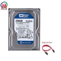 Ổ CỨNG PC 250GB WD BH 24 THÁNG Tặng Cáp Sata giá sỉ