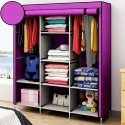 Tủ quần áo 3 buồng 8 ngăn size nhỡ giá sỉ