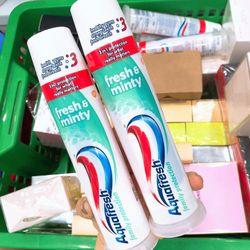 Kem đánh răng Aqua Mỹ dạng ống giá sỉ