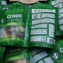 DJA Veggie crisps mied vegetables 250gr - Rau Củ Sấy Khô Úc 250 gr giá sỉ