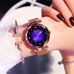 Đồng hồ nữ LSVTR dây nam châm giá sỉ