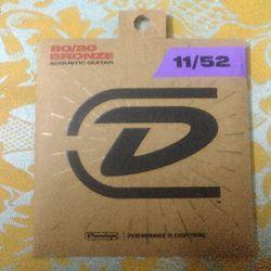 dây guitar Dunlop 80/20 Bronze 11-52 giá sỉ