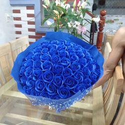Hoa hồng sáp thơm 66 bông giá sỉ