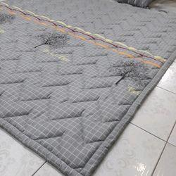 Nệm trải sàn kiêm đệm trải giường cotton lụa 140200cm giá sỉ