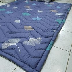 Nệm trải sàn kiêm đệm trải giường cotton lụa 200200cm giá sỉ
