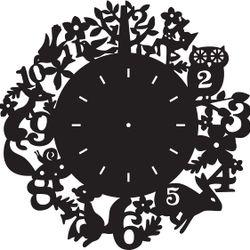 Đồng hồ treo tường trang trí nhà cửa J17 giá sỉ