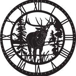 Đồng hồ treo tường trang trí nhà cửa J18 giá sỉ