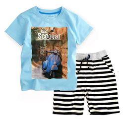 ĐẠI - Bộ đại VESPA bé trai BBT-26885-98 Bán sỉ quần áo trẻ em giá sỉ