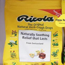 Kẹo ngậm thông cổ Ricola hương thảo mộc 130 viên giá sỉ