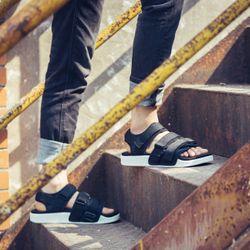 sandal nam nữ 701 đen giá sỉ