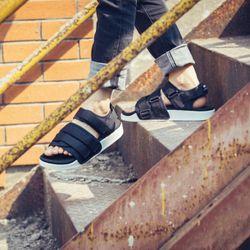 sandal nam nữ 701 đen giá sỉ, giá bán buôn