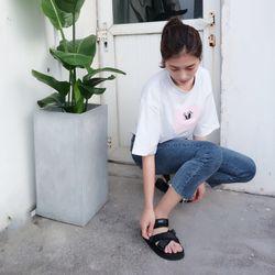 sandal nam nữ 0010 đen giá sỉ