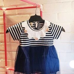 váy kẻ nhí giá sỉ
