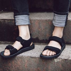 sandal nam nữ mã 337 đen