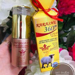 Serum Karashe 360 Gold 50ml giá sỉ