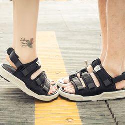sandal nam nữ 6212 ghi giá sỉ, giá bán buôn