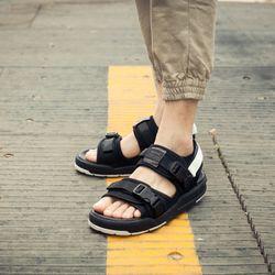 sandal nam nam nữ 6201 trắng đen giá sỉ