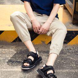sandal nam nam nữ 6201 trắng đen giá sỉ, giá bán buôn