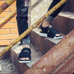 sandal nam nữ mã 701 đen