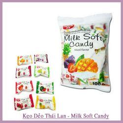 Kẹo dẻo trái cây thái lan Milk Soft Candy Mixed Flavour 320G giá sỉ
