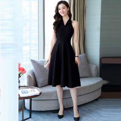 Đầm Xòe Thanh Lịch Sát Nách Cổ Vest giá sỉ, giá bán buôn