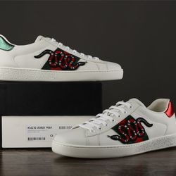 PK VERSION GUCI ACE EMBROIDERED SNEAKER SNAKE giá sỉ