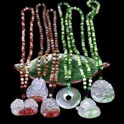 Vòng đeo cổ bằng mầu Ngọc giá sỉ