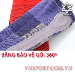 Băng bảo vệ đầu gối 360 màu xám - VNSPORT giá sỉ, giá bán buôn