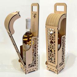 Hộp rượu vang trang trí làm quà tặng jonnydecor J6 giá sỉ