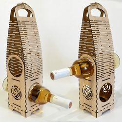 Hộp rượu vang trang trí làm quà tặng jonnydecor J1 giá sỉ