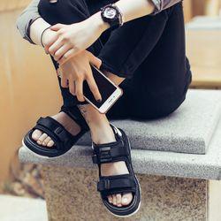 Sandal Nam nữ 6201 đen giá sỉ