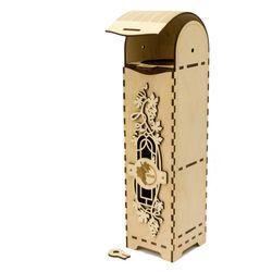 Hộp rượu vang trang trí làm quà tặng jonnydecor J9 giá sỉ