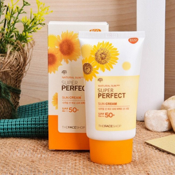 Kem chống nắng Super Perfect Spf50TheFaceShop giá sỉ