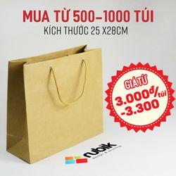 Túi giấy size 25 x 28 x 10 cm - túi giấy thời trang