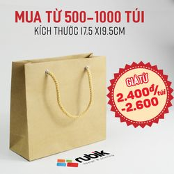Túi giấy size 175 x 195 x 50mm - Túi giấy thời trang giá sỉ