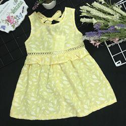 Đầm vải tơ lụa 1-8 giá sỉ, giá bán buôn
