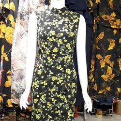Đầm hoa trung niên giá sỉ