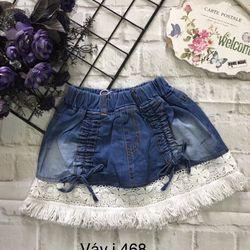 Váy jean có chip giá sỉ
