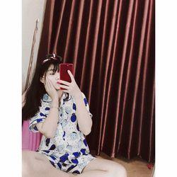 Bộ pijama MG cộc tay dư bo viền cổ siêu hot