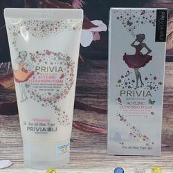 Sữa rửa mặt đặc trị dầu mụn làm trắng da - PRIVIA - Korea giá sỉ