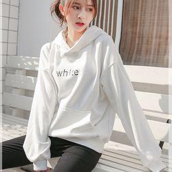 Áo khoác hoodie nữ tay dài có chữ trước ngực siêu dể thương 148 giá sỉ