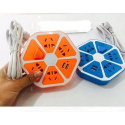 Ổ Cắm Điện Đa Năng Hình Trái Cam Tích Hợp Cổng USB giá sỉ
