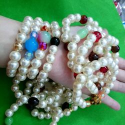 chuỗi đeo tay phong thủy giá sỉ 10k 1 chuỗi hàng siêu đẹp y hình lun giá sỉ