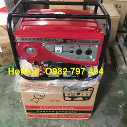 Bán máy phát điện Honda Thái lan SH4500ex-3kw giá cực rẻ giá sỉ, giá bán buôn